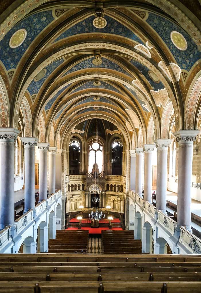 Большая синагога. Интерьер