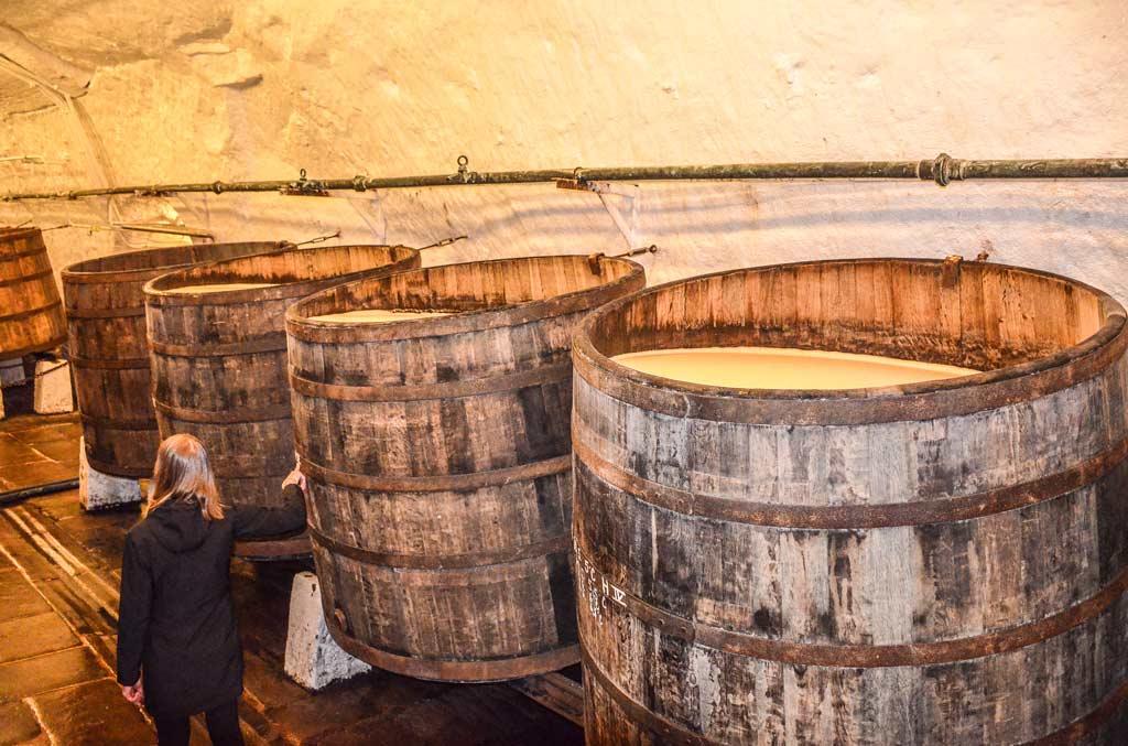Подвалы пивоваренного завода«Plzeňský Prazdroj»