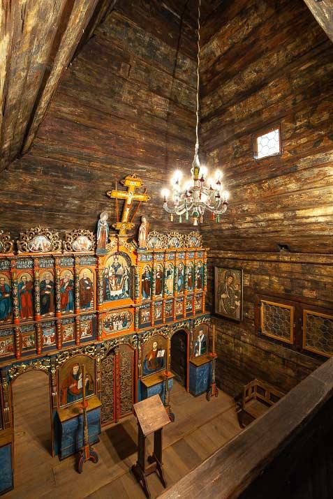 Церковь Св. Николая Чудотворца. Внутреннее убранство