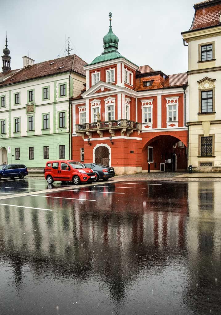 Дом «U Špuláků» в Градец-Кралове