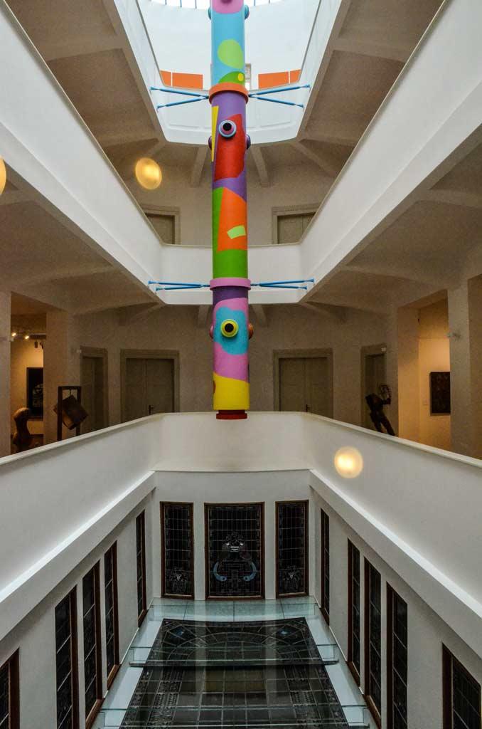 Интерьер Галереи современного искусства в Градец-Кралове