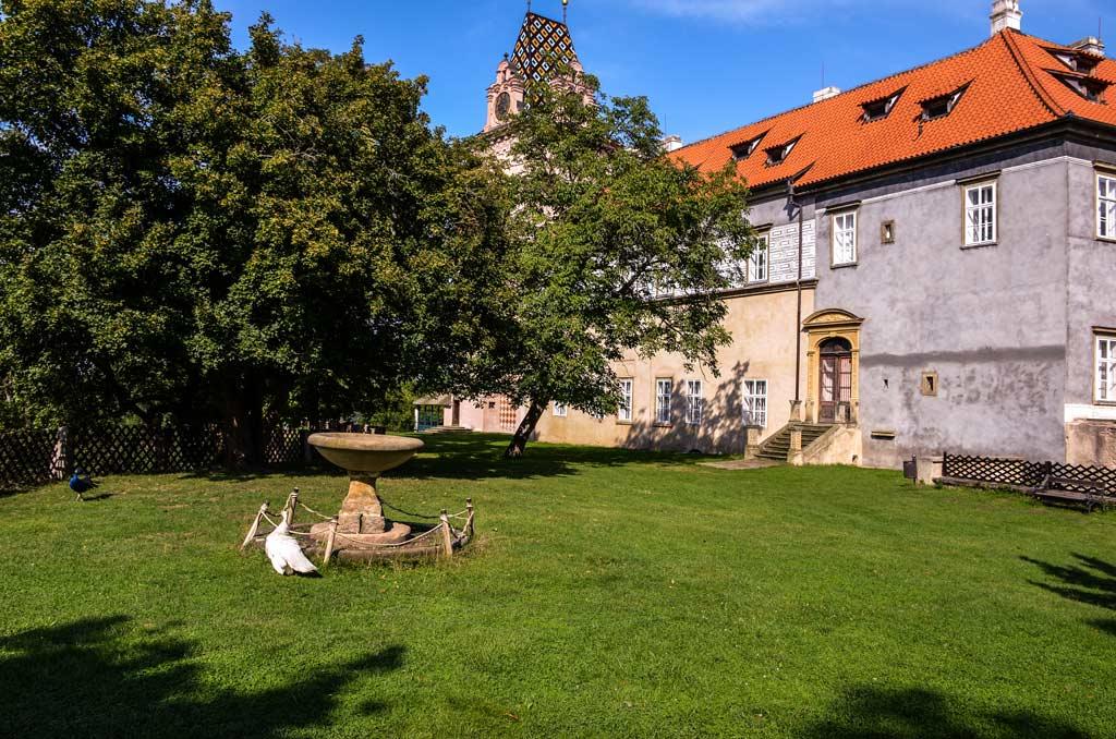 Замок Брандис-над-Лабем. Среднечешский край. Богемия