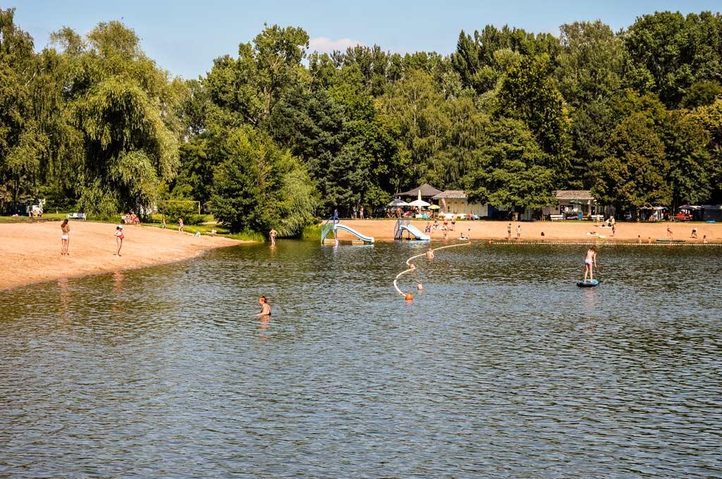 Озеро Подебрады