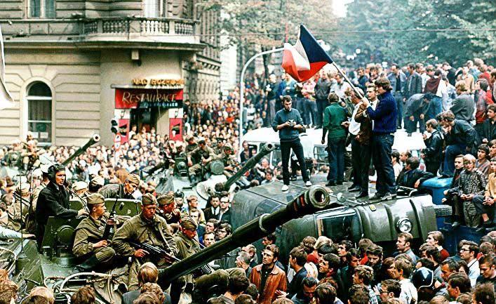 События 1968 года в Чехословакии
