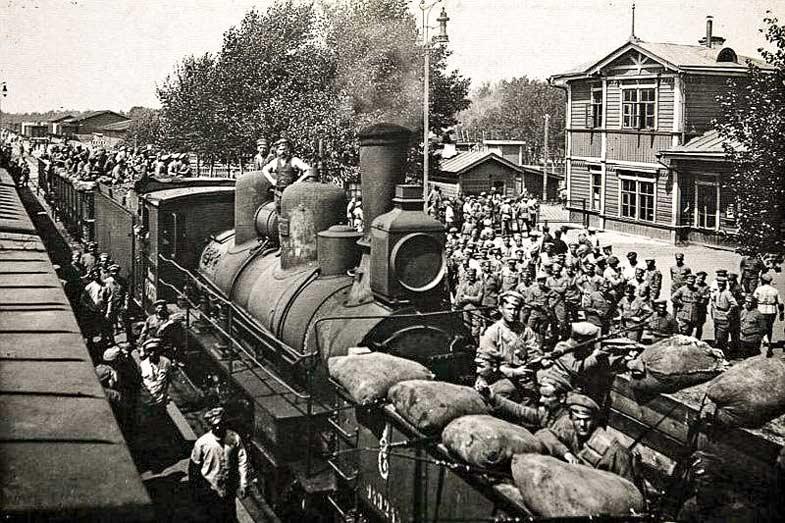 Чехословацкие легионеры в России