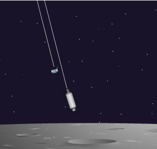 Amerikan Uzay Aracı Ay'a Çarpmak Üzere Yol Alıyor