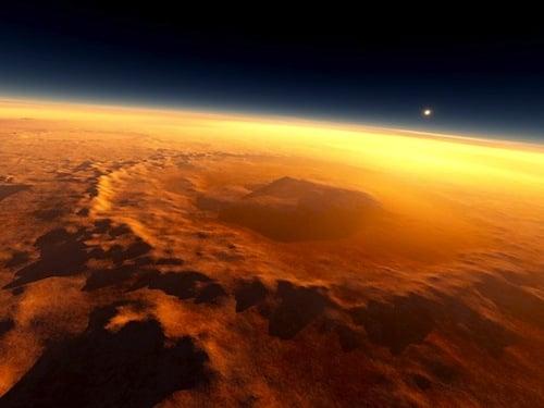 Mars'ta Organik Bileşimler Bulundu