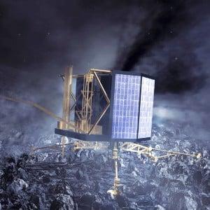 Tarihi Buluşma: Rosetta Uzay Aracı Kuyruklu Yıldızın Yörüngesine Giriyor