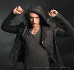Jace in The City of Bones movie