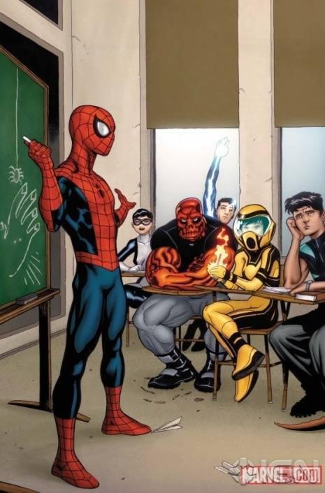 spider-man teaches