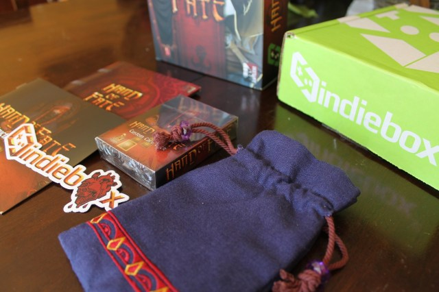 Hand of Fate Indie Box Contents
