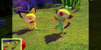 A screenshot of New Pokémon Snap.