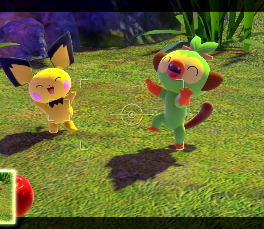 A screenshot of New Pokémon Snap.