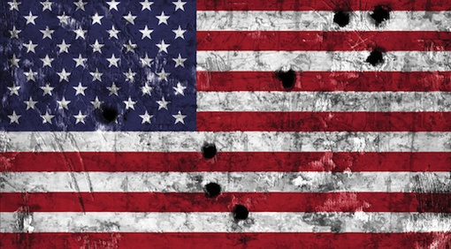 Artwork from book cover | America at War with Itself