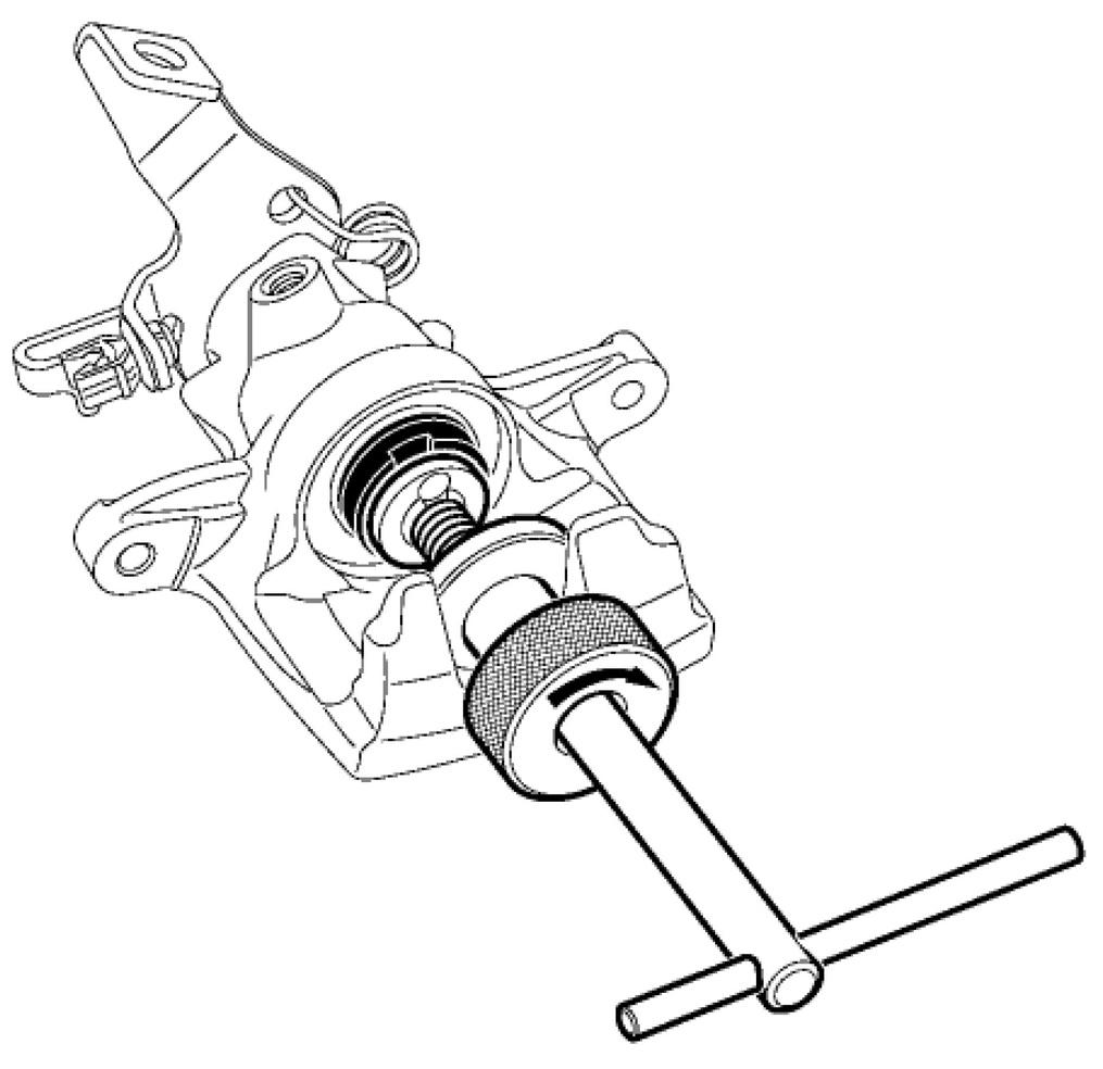 Замена задних тормозных колодок на Renault Kangoo II