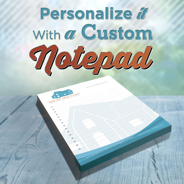 Print Custom Notepads