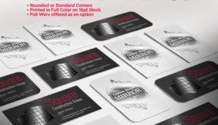 Akuafoil business cards custom printing uz marketing silk business card printing colourmoves