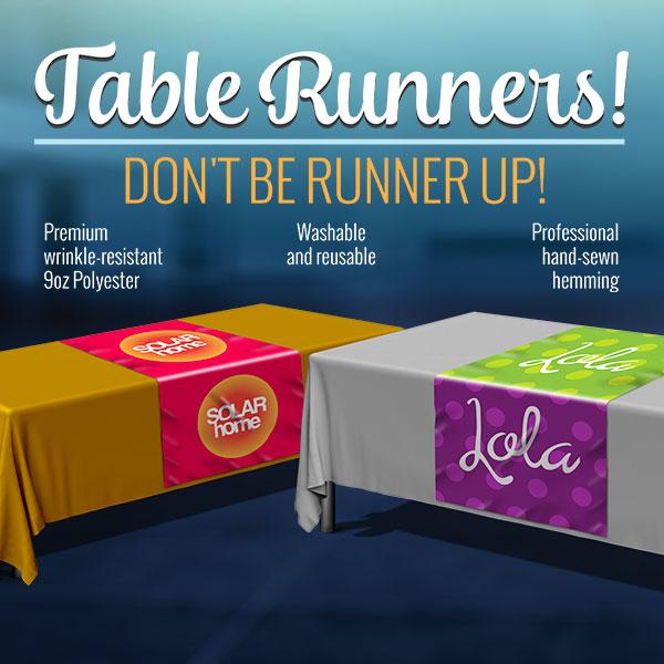 Custom Table Runner Printing