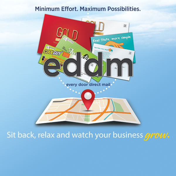 Use Every Door Direct Mail (EDDM) to Blanket Your Area