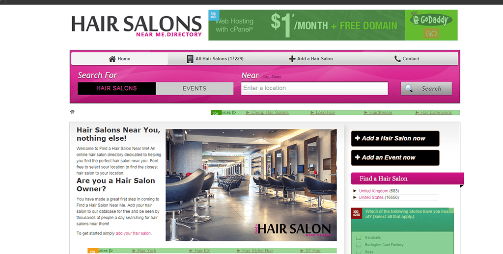 Houston web design has never been better number 1 web for Hair salons near me