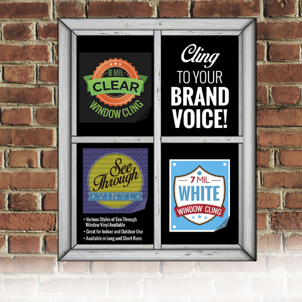 Custom window decals printing for your business