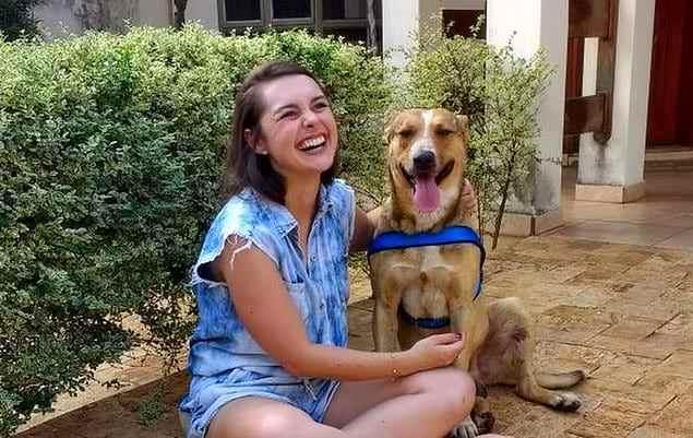 Реакция этой пары на бездомного пса, сорвавшего им свадьбу, покорила интернет (12 фото)