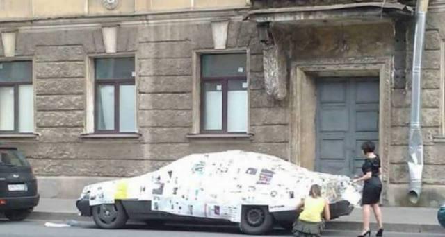 Наглядно и доходчиво: как мстят автомобилистам (20 фото)