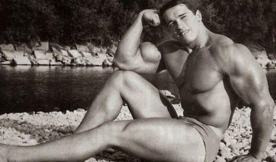 Арнольд Шварцнеггер в молодости не гнушался ню-фотосессий