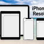 iPhone/iPad 画面サイズ、解像度、アスペクト比一覧