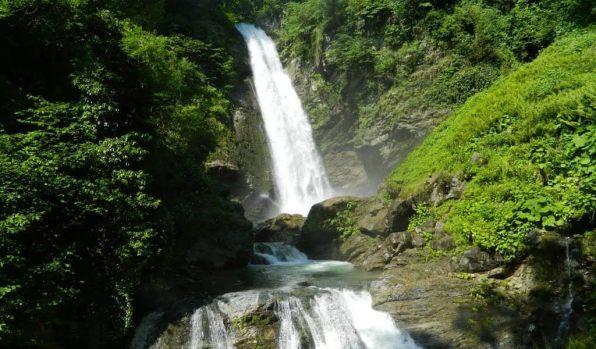Гургенианский водопад – особая достопримечательность Лагодехского заповедника в Грузии