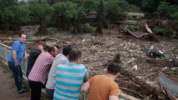 Крупнейшее наводнение за всю современную историю Тбилиси. 13 июня 2015 года
