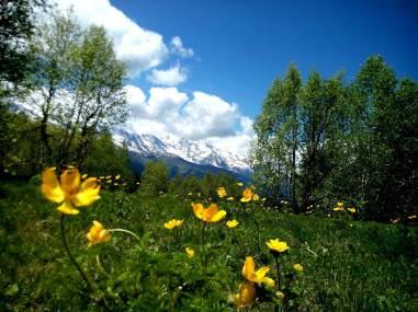 Сванетия - край высоких гор и древних башен