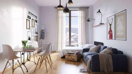 Современные и стильные апартаменты от Go Gudauri