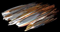 """""""Fers à béton, échafaudage et sacs à gravats"""", Réinterprétation dimensionnelle n° r_375-10"""