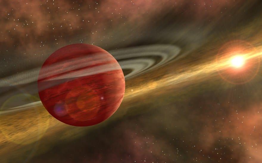 Il più giovane esoplaneto raggiunge l'età inferiore a un milione di anni e ruota attorno alla stella di Coku Tau 4, rimossa da 420 anni luce. Gli scienziati possono rimuoverlo a causa di un grande spazio presente nel disco stellare. È 10 volte la più grande orbita terrena e è probabilmente creata durante la rotazione del pianeta, purifica lo spazio su disco dalla polvere.