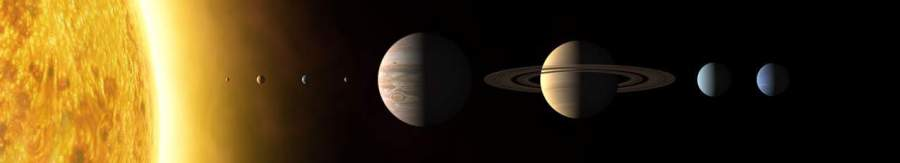 Порядок расположения планет Солнечной системы