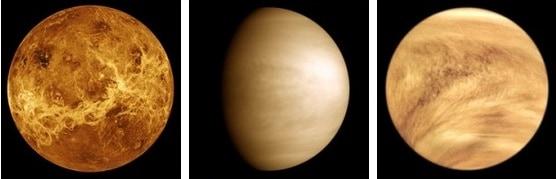 Венера - вторая планета от Солнца.