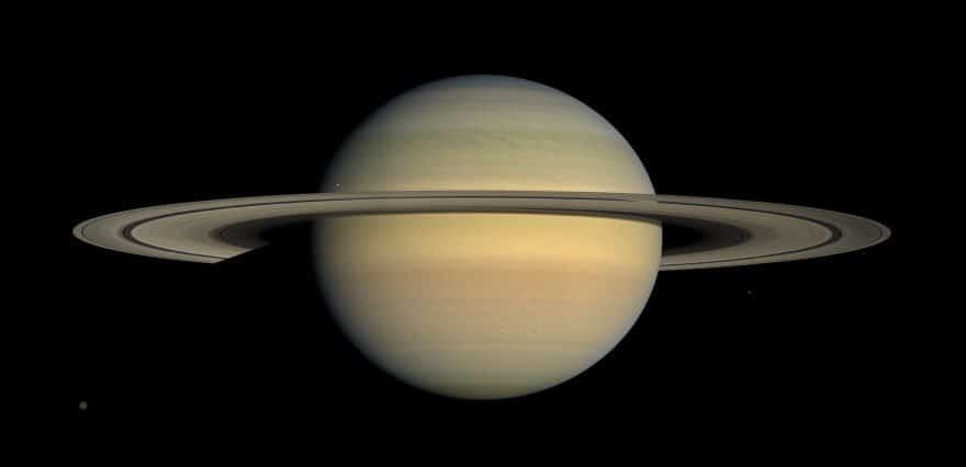 Күннен алты планета - Сатурн