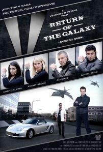 The V: Return of the Galaxy - Agents poster