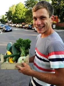 bio-vegan-Pionier Daniel Hausmann