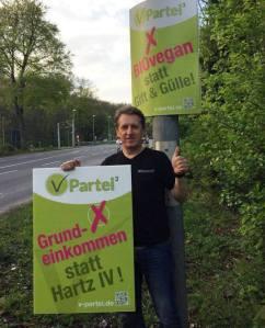 Feiert auch mit Geburtstag: NRW-Spitzenkandidat Michael Kneifel