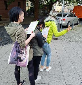 Unterschriftensammeln in Thüringen