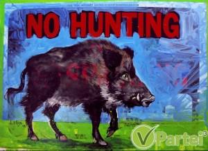 keine Jagd auf Wildschweine