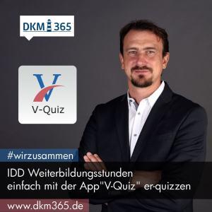 DKM365 - V-Quiz für IDD Weiterbildungsstunden