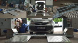 BM20200 Mobile Brake Tester Installation
