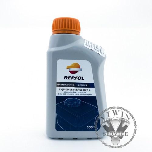 Тормозная жидкость Repsol Liquido De Frenos DOT 4