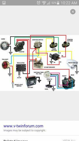 Harley Davidson Coil Wiring Diagram : harley, davidson, wiring, diagram, Wiring, V-Twin, Forum