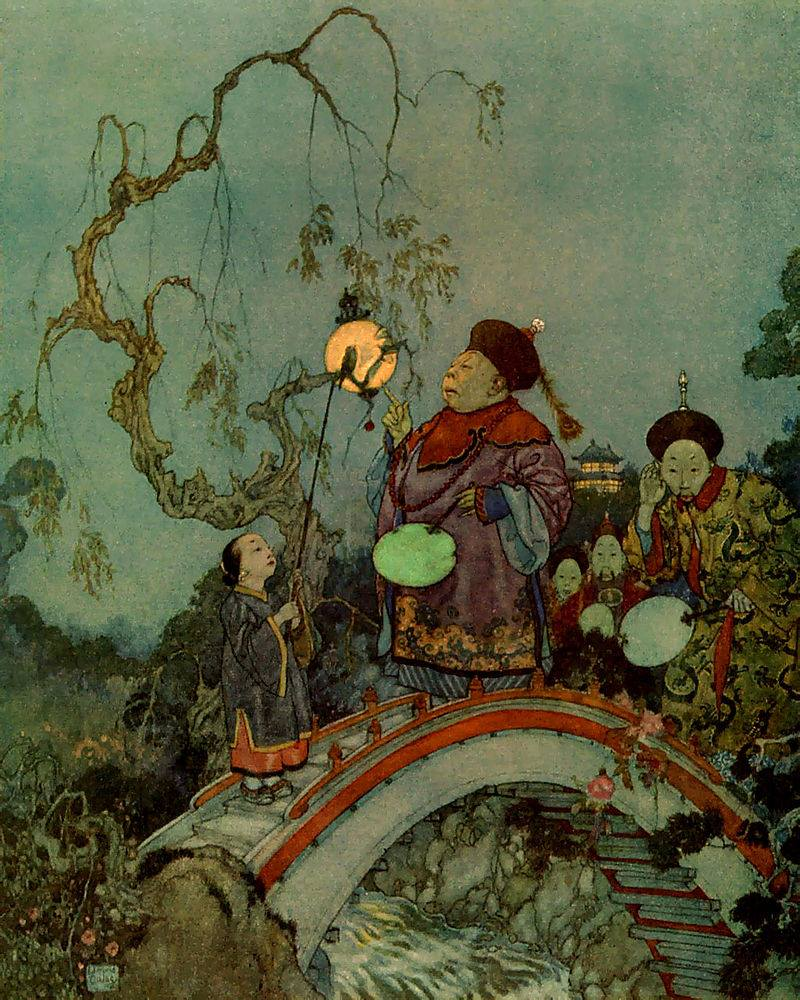 Golden Age of Illustration. Edmund Dulac