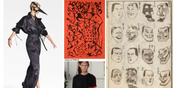 zim & zou, full abstraction exhibition in brussels, jackson pollock, alexander calder, kubo & the two strings, origami warriors, manga of ukiyo-e, design museum in holon