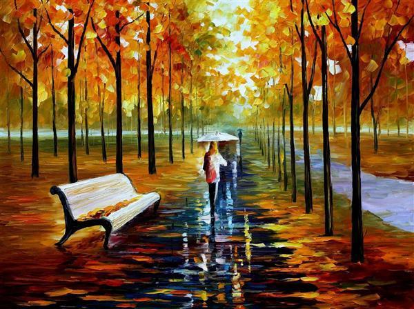 Fall Colored Background Wallpaper لوحات فنية جميلة منتديات عبير